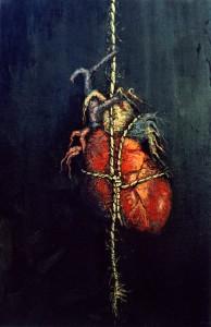 Corazon roto - Oleo (61x50)